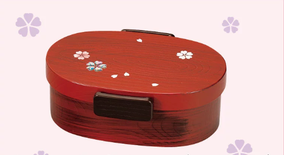 Wood Hue Yayoi Oval Bento 480mL by Hakoya - Bento&co Japanese Bento Lunch Boxes and Kitchenware Specialists