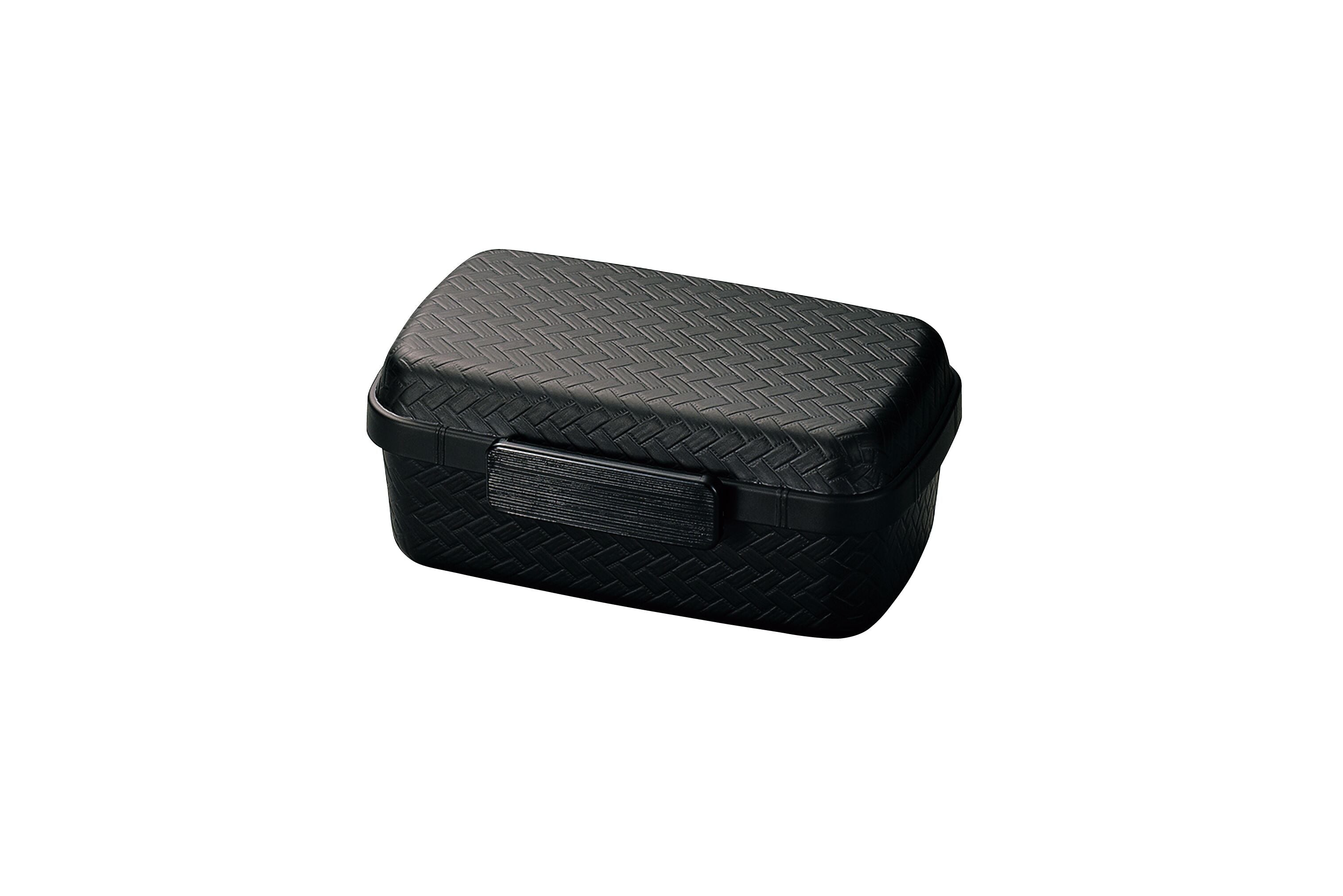 Nuri Ajiro Side Lock Bento Box | Black by Hakoya - Bento&co Japanese Bento Lunch Boxes and Kitchenware Specialists