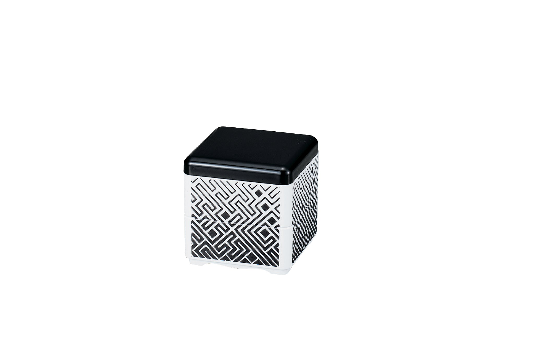 Mini Bento Box | Maze Black by Hakoya - Bento&co Japanese Bento Lunch Boxes and Kitchenware Specialists