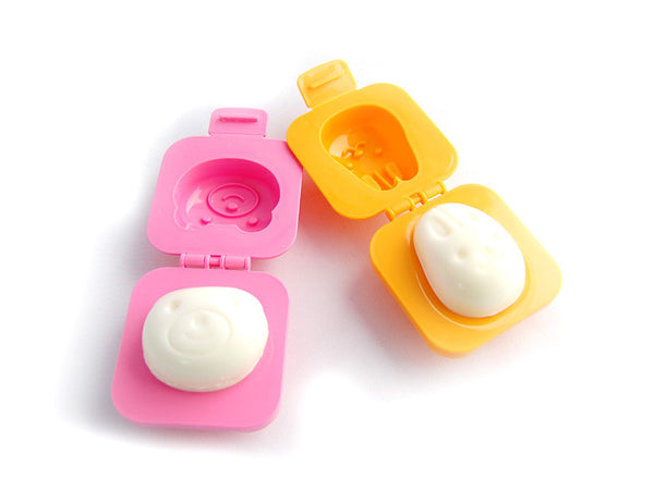 Yude Tama Egg Molds | Rabbit & Bear