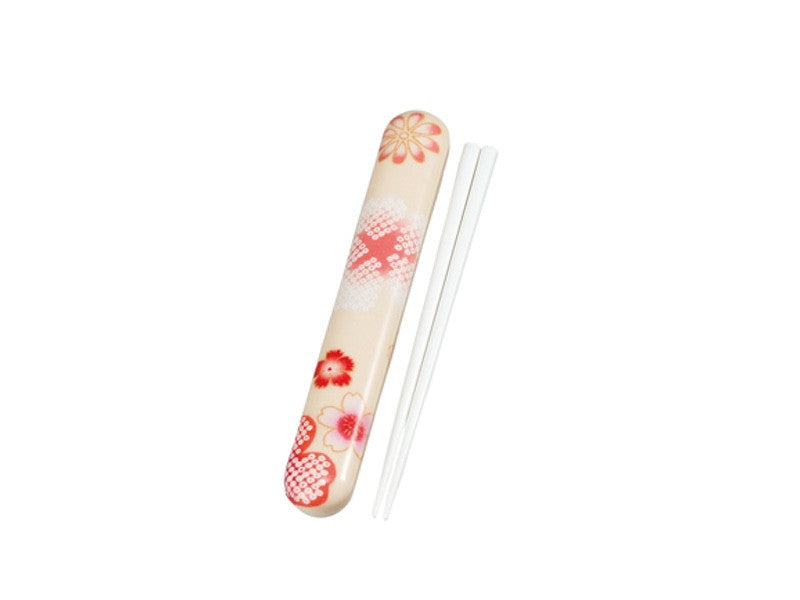 Yume Sakura Chopsticks Set | Beige by Hakoya - Bento&co Japanese Bento Lunch Boxes and Kitchenware Specialists