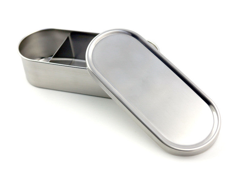 Japanese lunch long bento box stainless steel