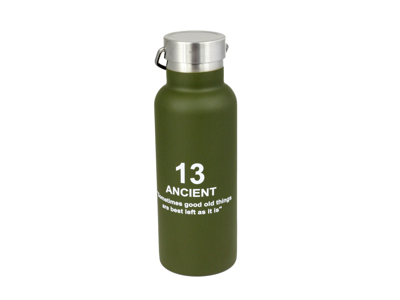 Ancient Stainless Bottle | Army Green by Showa - Bento&co Japanese Bento Lunch Boxes and Kitchenware Specialists