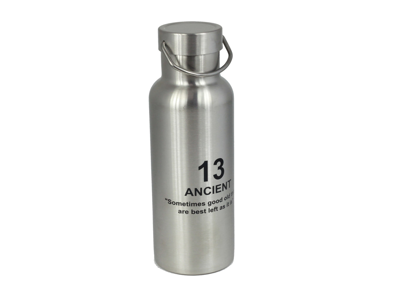 Ancient Stainless Bottle | Silver by Showa - Bento&co Japanese Bento Lunch Boxes and Kitchenware Specialists