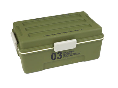 Ancient Container Lunch Box | Army Green by Showa - Bento&co Japanese Bento Lunch Boxes and Kitchenware Specialists