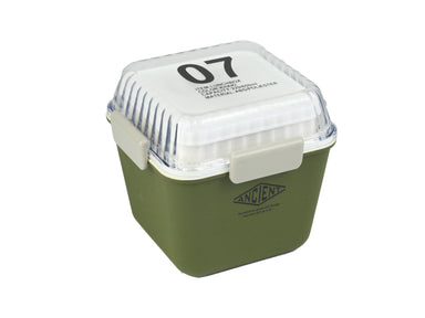 Ancient Tall Lunch Box | Army Green by Showa - Bento&co Japanese Bento Lunch Boxes and Kitchenware Specialists