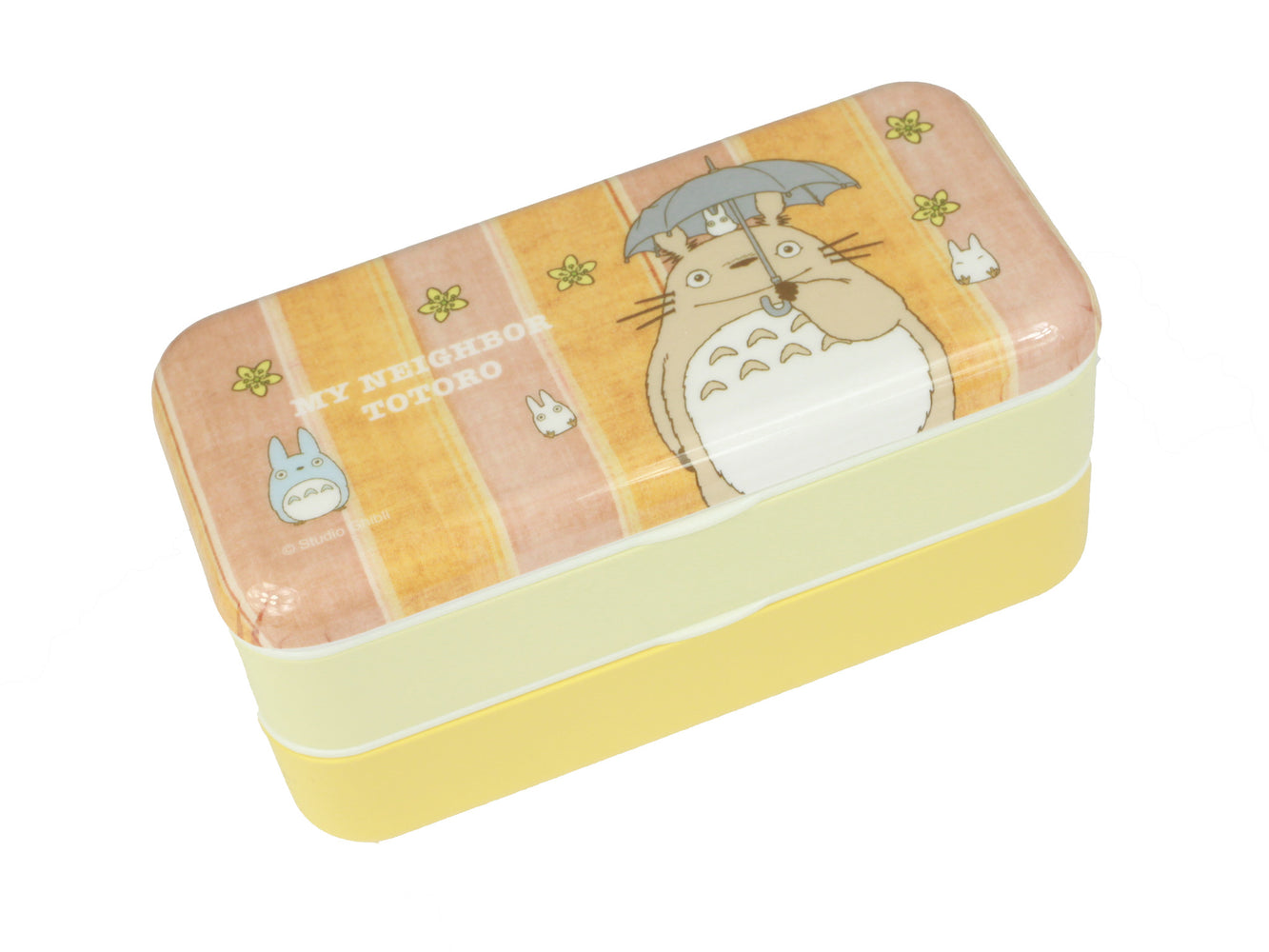Totoro Stripes Bento Box | Long