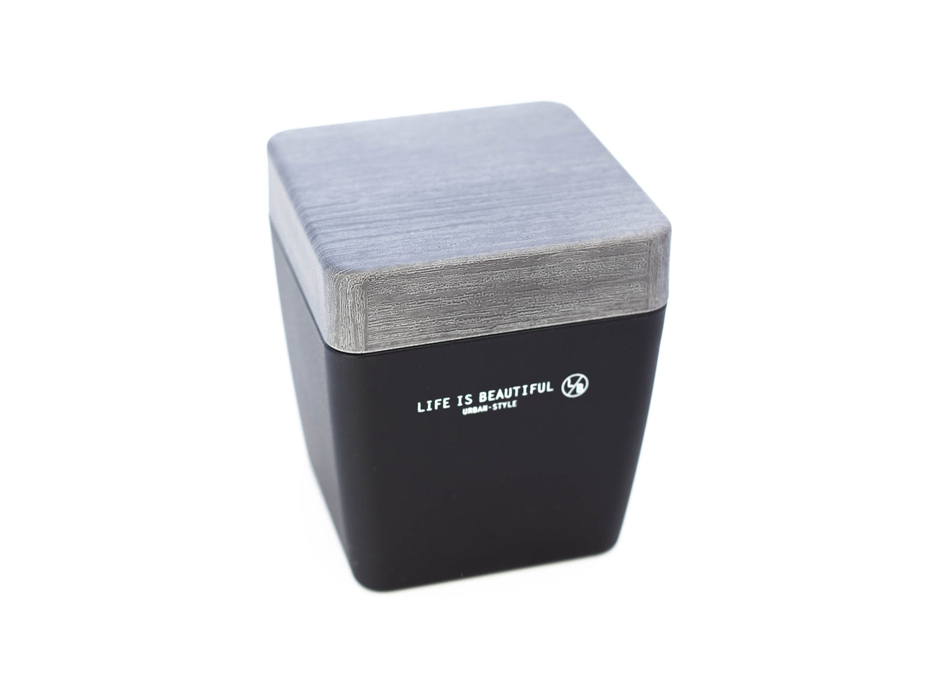 Life is Beautiful Lunch Tall | Gray by Showa - Bento&con the Bento Boxes specialist from Kyoto