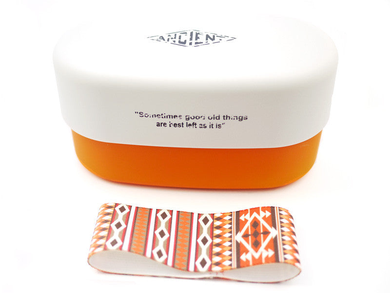 Ancient & Chic Bento Orange by Showa - Bento&co Japanese Bento Lunch Boxes and Kitchenware Specialists