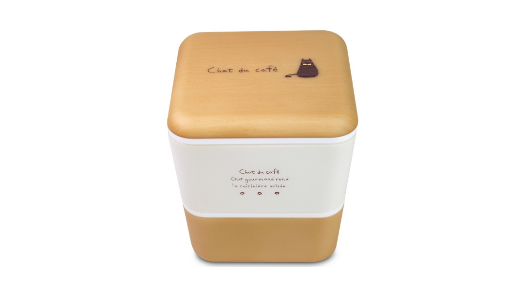 Replacement Top Inner Lid | Chat du Cafe Square by Showa - Bento&co Japanese Bento Lunch Boxes and Kitchenware Specialists