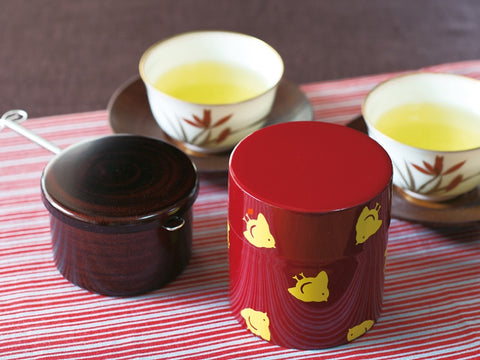 Tea Box Chidori | Yellow by Hakoya - Bento&co Japanese Bento Lunch Boxes and Kitchenware Specialists