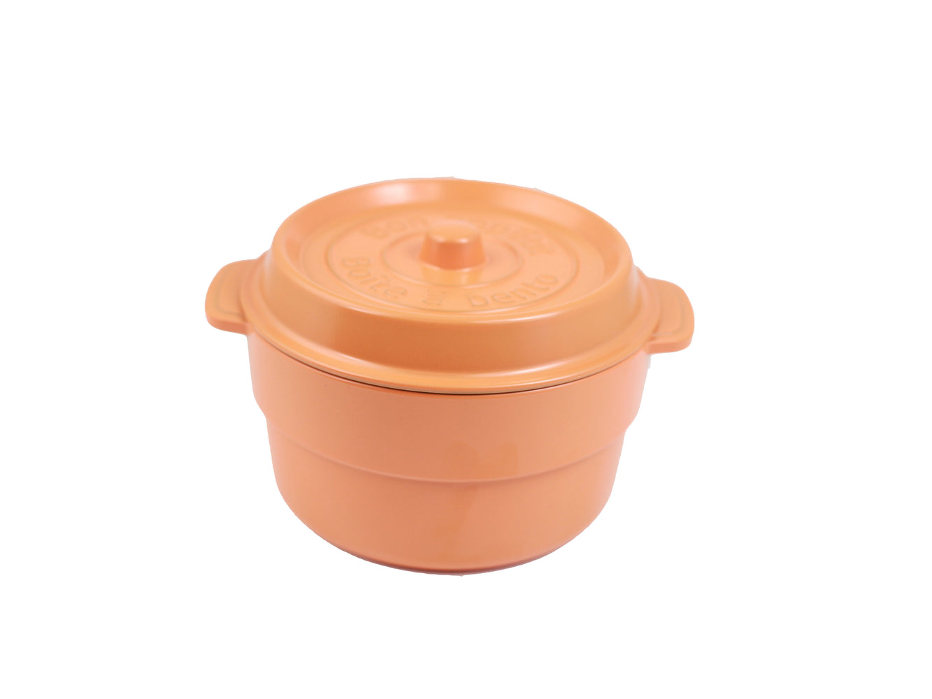 Cocopot Ronde Bento Box | Orange by Takenaka - Bento&con the Bento Boxes specialist from Kyoto