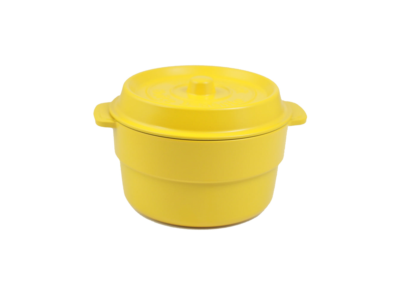 Cocopot Ronde Bento Box | Yellow by Takenaka - Bento&con the Bento Boxes specialist from Kyoto