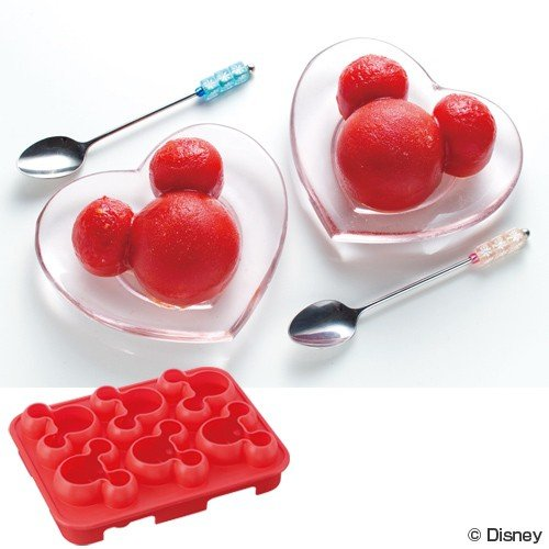 Ice Cubes Mold Small | Mickey Mouse by Skater - Bento&co Japanese Bento Lunch Boxes and Kitchenware Specialists