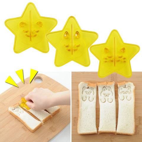 Deco Stick Toast Stamps by Arnest - Bento&con the Bento Boxes specialist from Kyoto