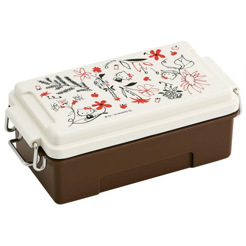 Hello Kitty Flowers Side Lock Bento Box | Metal