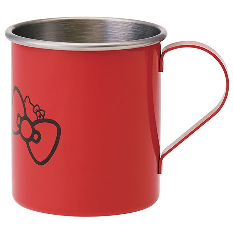 Hello Kitty Stainless Steel Mug by Skater - Bento&co Japanese Bento Lunch Boxes and Kitchenware Specialists