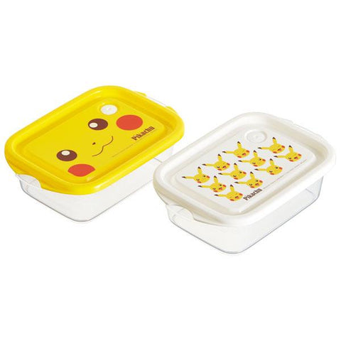 Pokemon Pikachu 2 Lunch Box Set (2 Boxes) by Skater - Bento&con the Bento Boxes specialist from Kyoto