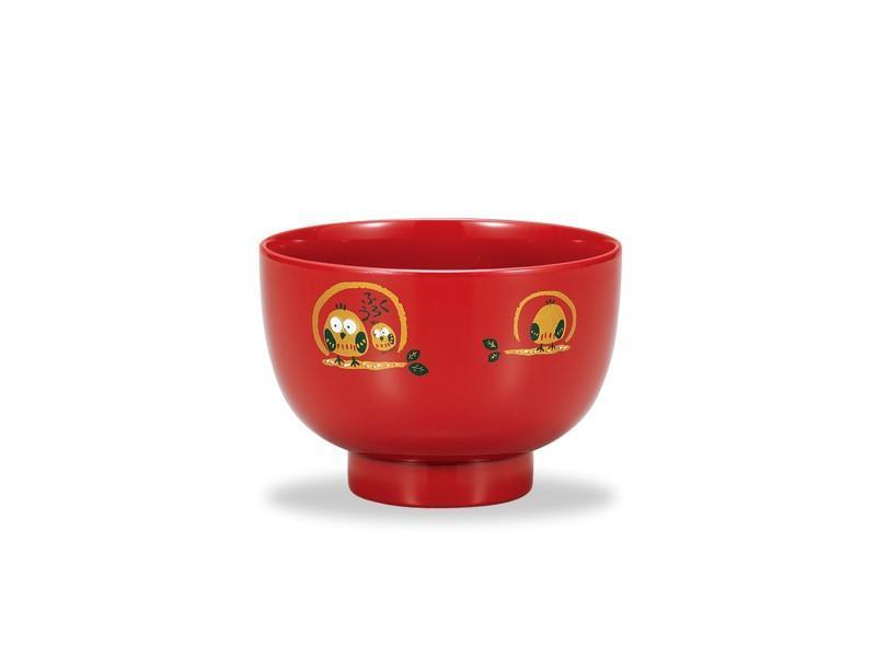 Nesting Owl Bowl | Red by Showa - Bento&co Japanese Bento Lunch Boxes and Kitchenware Specialists