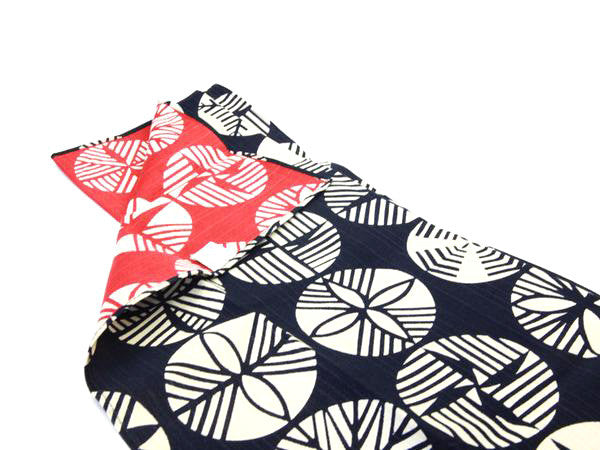 Furoshiki Sugi 48cm | Red & Blue by Yamada Seni - Bento&co Japanese Bento Lunch Boxes and Kitchenware Specialists