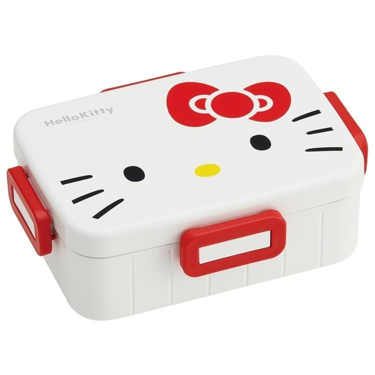 Hello Kitty Face Bento Box 650ml by Skater - Bento&con the Bento Boxes specialist from Kyoto