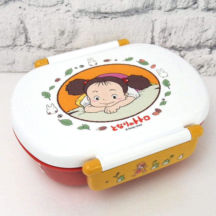 Totoro Mei Side Lock Bento Box by Skater - Bento&co Japanese Bento Lunch Boxes and Kitchenware Specialists