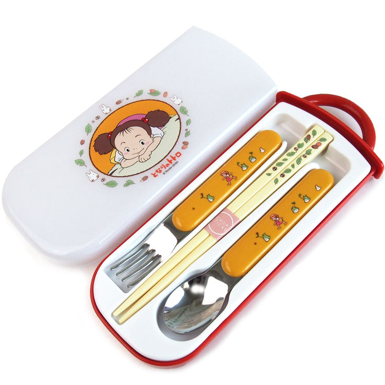 Totoro Mei 3 in 1 Cutlery Set
