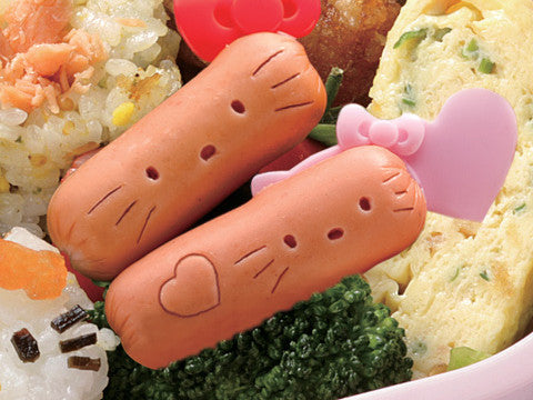 Hello Kitty Sausage Cutter