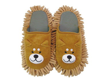 Kawaii Microfibre Animal Slippers Shiba Inu Dog by Interior Company - Bento&co Japanese Bento Lunch Boxes and Kitchenware Specialists
