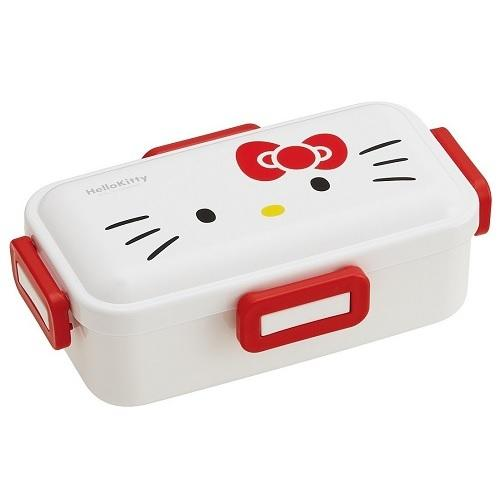 Hello Kitty Face Bento Box 530ml by Skater - Bento&con the Bento Boxes specialist from Kyoto