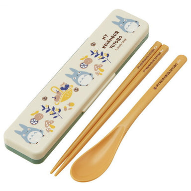 Totoro Harvest Chopsticks & Spoon Set by Skater - Bento&co Japanese Bento Lunch Boxes and Kitchenware Specialists