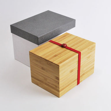 Handmade Take Bako Bento Box | Red Band by Kohchosai Kosuga - Bento&co Japanese Bento Lunch Boxes and Kitchenware Specialists