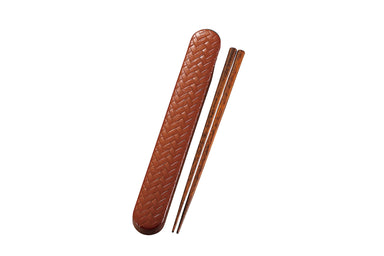 Ajiro Chopsticks Set | Light Brown by Hakoya - Bento&co Japanese Bento Lunch Boxes and Kitchenware Specialists