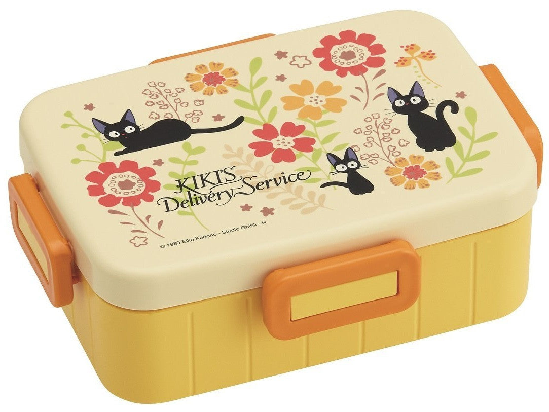 Kiki's Delivery Service Bento Box | Floral Jiji by Skater - Bento&co Japanese Bento Lunch Boxes and Kitchenware Specialists