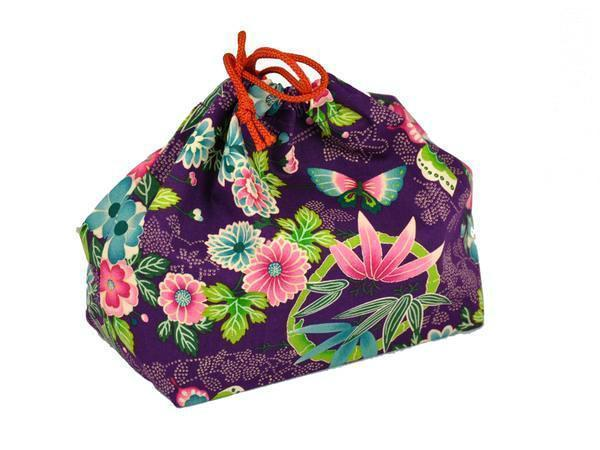 Kimono Bag Large | Murasaki by Bento&co - Bento&co Japanese Bento Lunch Boxes and Kitchenware Specialists
