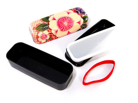 Kimono Long Bento | Pink by Hakoya - Bento&co Japanese Bento Lunch Boxes and Kitchenware Specialists