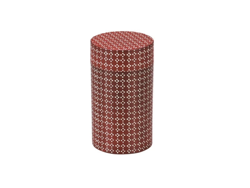 Tea Box Fabric Patern | Red 650ml by Hakoya - Bento&co Japanese Bento Lunch Boxes and Kitchenware Specialists