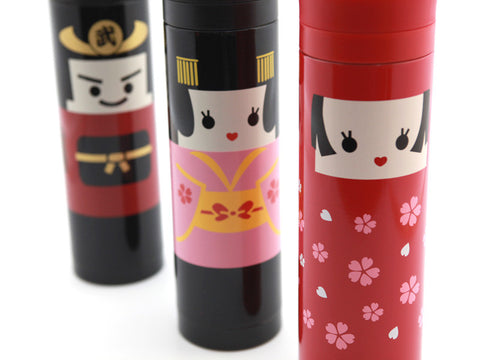 Kokeshi Bottle Bushi by Hakoya - Bento&con the Bento Boxes specialist from Kyoto