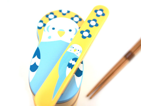 Kotoritachi Chopsticks | Blue Okameinko by Hakoya - Bento&co Japanese Bento Lunch Boxes and Kitchenware Specialists