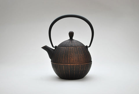 Enamel Kurumi Teapot | Burnished Copper