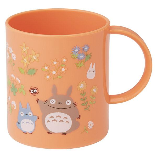 Totoro Flower Orange Cup by Skater - Bento&co Japanese Bento Lunch Boxes and Kitchenware Specialists