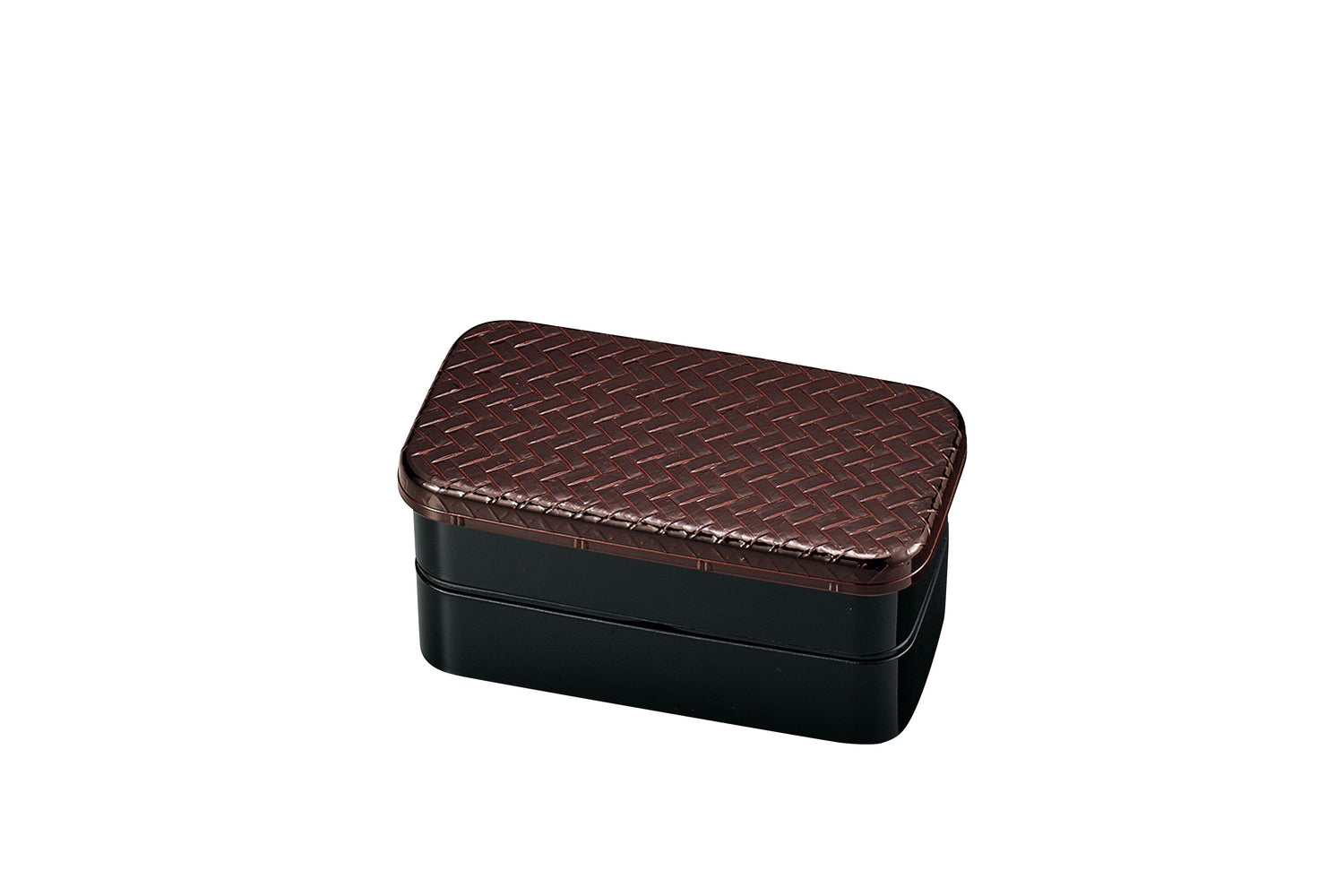 Ajiro Dark Brown Bento Box | Small by Hakoya - Bento&co Japanese Bento Lunch Boxes and Kitchenware Specialists
