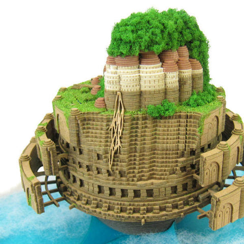 Miniatuart | Castle in the Sky: Laputa Castle