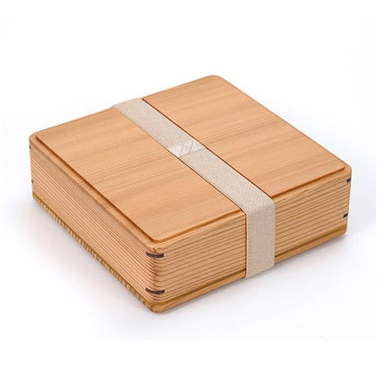 Gel-Cool mWood Bento Box Large | Brown by Gel Cool - Bento&co Japanese Bento Lunch Boxes and Kitchenware Specialists