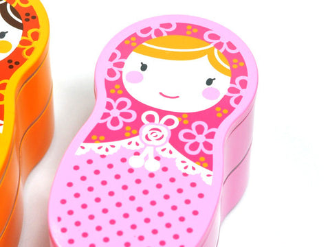 Matryoshka Bento | Pink by Hakoya - Bento&con the Bento Boxes specialist from Kyoto