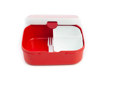 Mepal Campus Lunch Box | Red by Space Joy - Bento&co Japanese Bento Lunch Boxes and Kitchenware Specialists
