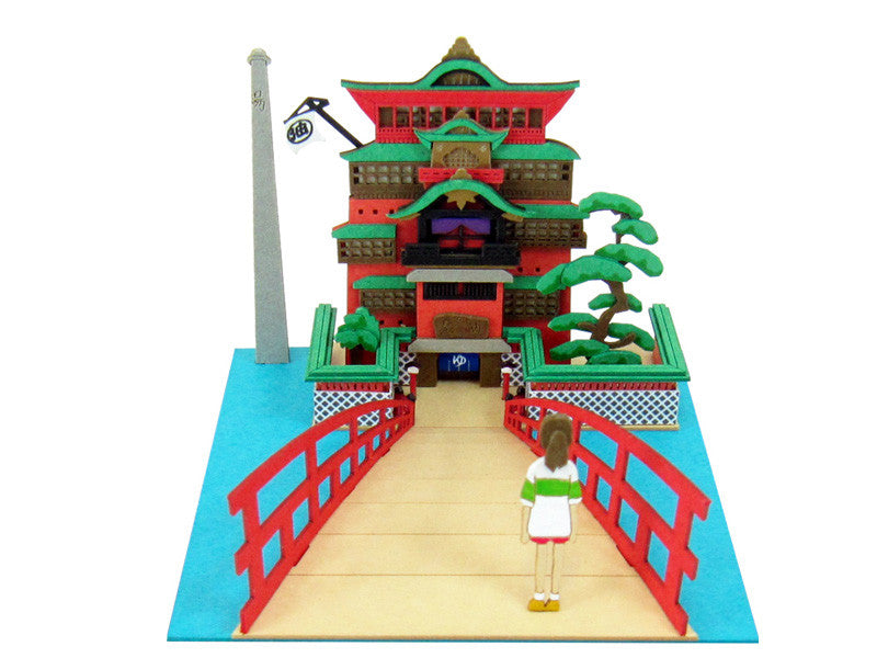 Miniatuart | Sen and Chihiro's Spiriting Away : Chihiro and Aburaya hot-springs by Sankei - Bento&con the Bento Boxes specialist from Kyoto