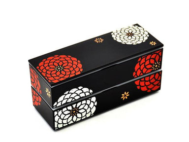 Ojyu Bento Long | Black by Hakoya - Bento&co Japanese Bento Lunch Boxes and Kitchenware Specialists