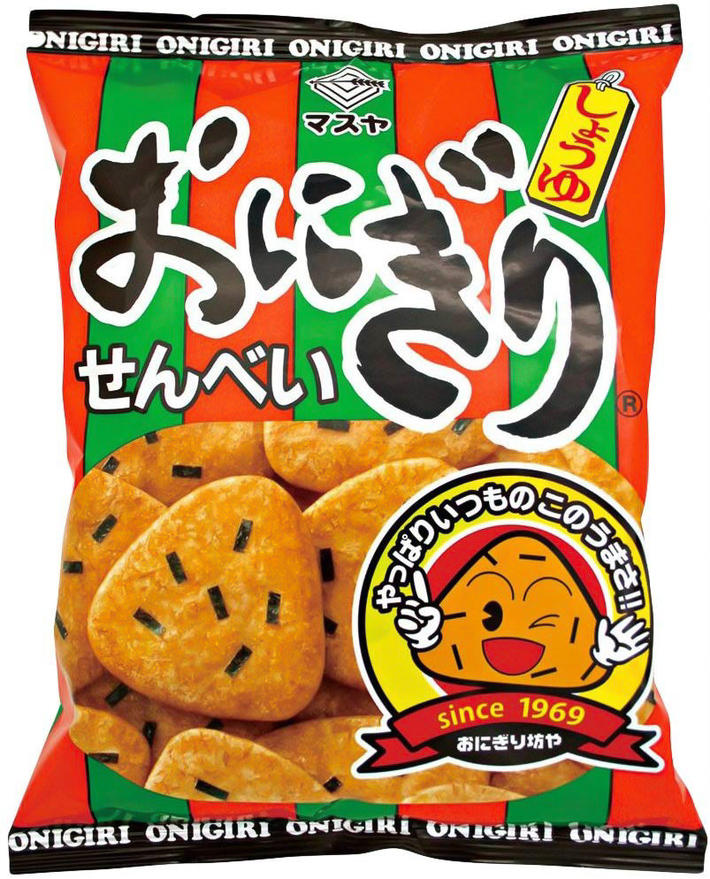 Onigiri Senbei Rice Crackers