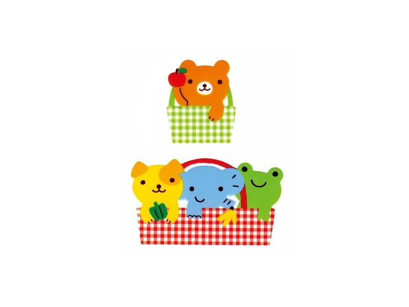 Animal Friends Basket Balan Dividers by Torune - Bento&co Japanese Bento Lunch Boxes and Kitchenware Specialists